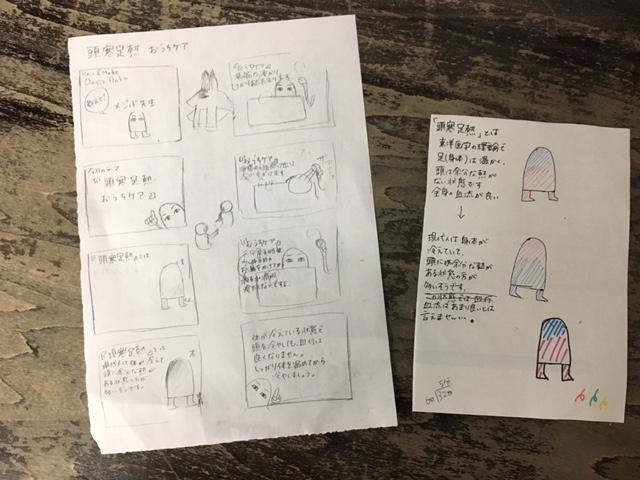 あんく ホワイトボードアニメーション 絵コンテ http://www.ankh-jp.om