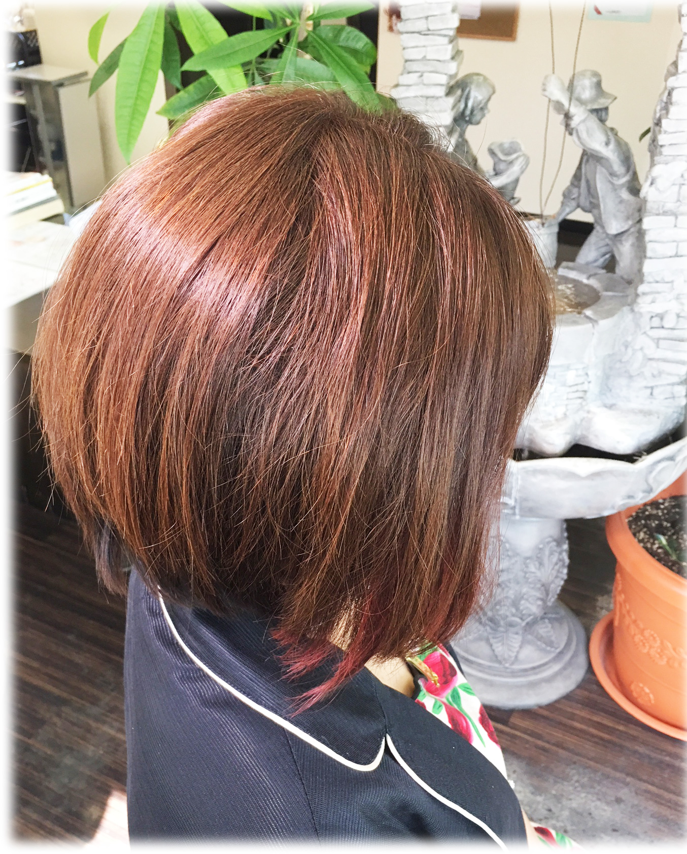 カラーリングしていてもツヤ髪 http://www.ankh-jp.com