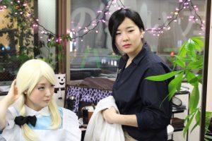 美容室 撮影 フォト作品 作品撮り http://www.ankh-jp.com