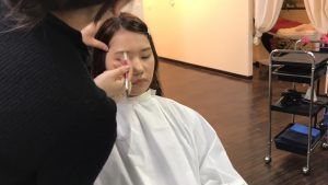 eyebrow hair trim service total balance beauty concept http://www.ankh-jp.com/english/