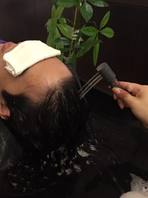 Scalp cleansing and head spa therapy https://www.ankh-jp.com/english/