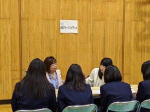 働くとは 野幌高校 企業との交流 http://www.ankh-jp.com